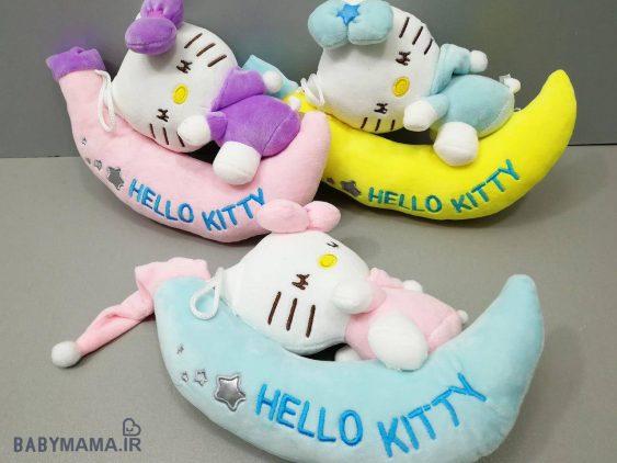 عروسک موزیکال Hello Kitty مدل ماه سوار