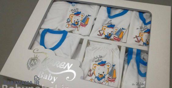 ۱۹ تیکه نوزادی Baby Karen مدل خرس ملوان