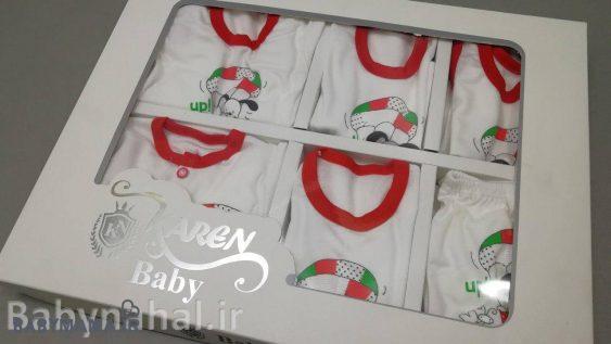 ۱۹ تیکه نوزادی Baby Karen مدل خرگوش
