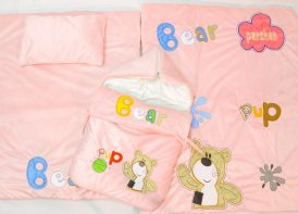 سرویس خواب مخمل پارچه خارجی Parshan مدل Bear Pup