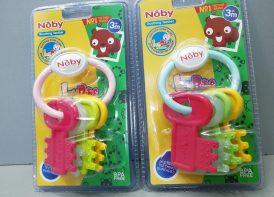 جغجغه دندانگیر کودک Noby مدل دسته کلید