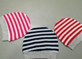 کلاه گرد پنبه اعلا کودک مدل راه راه رنگی