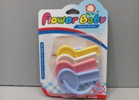 جغجغه دسته کلید Flower baby