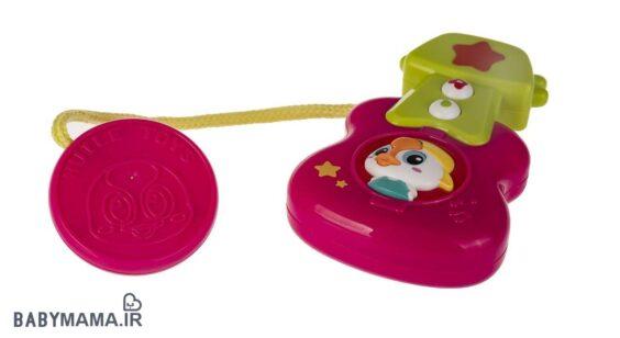 جلو کالسکه هولی تویز مدل Stroller Bar Musical Toy Set