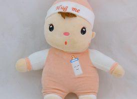 عروسک بچه 40 سانتی متری مدل Hug me