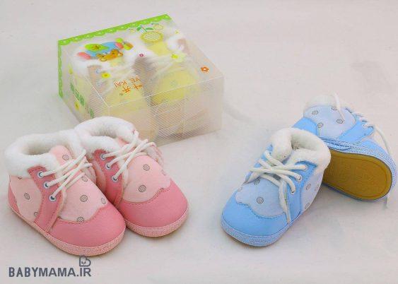 کفش بندی نوزادی Ye kai مدل خزدار 713