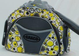 ساک لوازک کودک CRACO مدل حبابی زرد