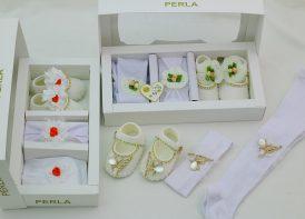 ست سه تیکه نوزادی دخترانه Perla