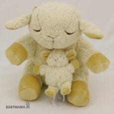 عروسک سه عددی موزیکال چراغدار Cloud B مدل گوسفند خواب آلود