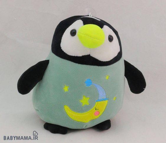 عروسک پنگوئن جغجغه ای نانو 20 سانتی متری