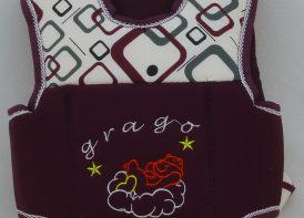 آغوشی کودک Grago مدل حبابی وایت