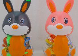 ست جغجغه و دندانگیر BabyToys مدل خرگوش سایز بزرگ
