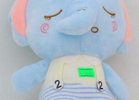 عروسک آویزدار Guard bear مدل فیل 21 سانتی متری