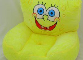 کاناپه پلیشی کودک مدل باب اسفنجی