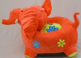 کاناپه پلیشی کودک مدل فیل ۶۰ سانتی متری (۳)