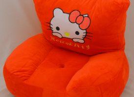 کاناپه پلیشی کودک مدل هلو کیتی ۵۰ سانتی متری