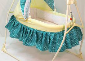 تخت و گهواره کودک کوشا مدل پریما