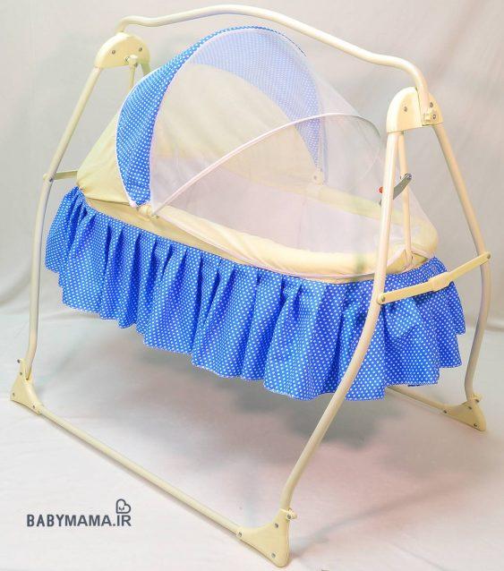 تخت و گهواره کودک کوشا مدل پریما |