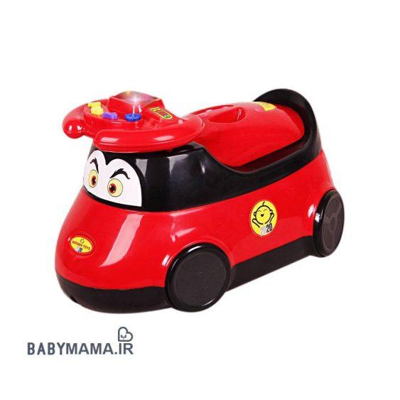 توالت فرنگی (قصری) کودک آلفا مدل ماشین ۸