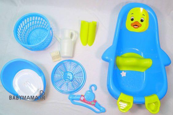 سرویس پلاستیک وان حمام آریا بیبی