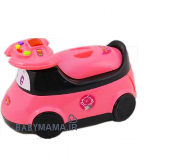 توالت فرنگی (قصری) کودک آلفا مدل ماشین