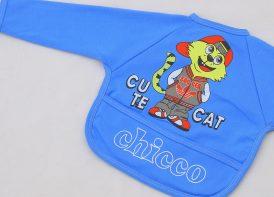 پیشبند لباسی کودک چیکو مدل پشت نایلونی
