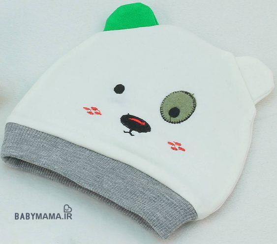 کلاه نقلی نوزادی مدل خرس