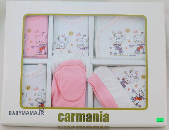 ست ۱۹ تیکه پنبه نوزادی کارمانیا مدل خرس خرگوش (1)