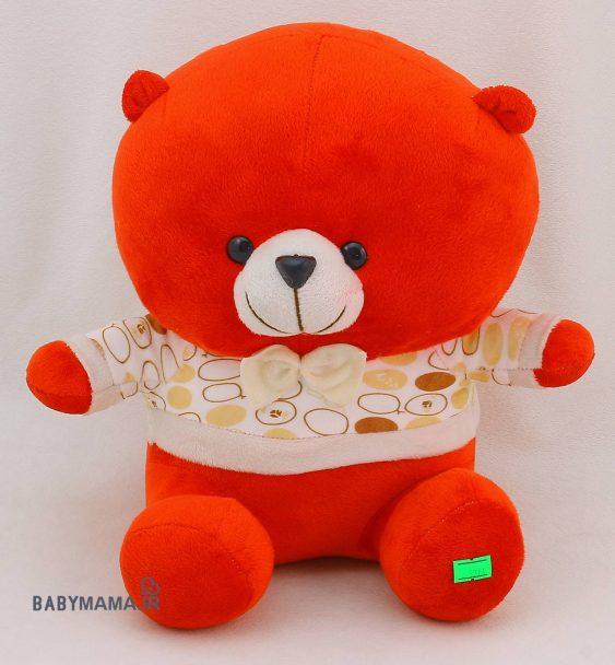 عروسک خرس 25 سانتی متری مدل نازلی