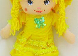 عروسک دختر موبافت 60 سانتی متری مدل رومی