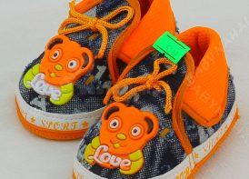 پاپوش نوزادی بندی مدل love sport (5)