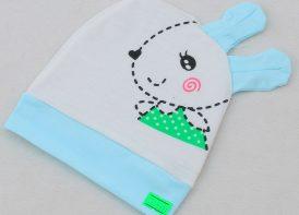 کلاه نوزادی پنبه مدل خرگوشی