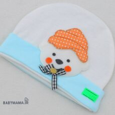 کلاه گرد نقلی نوزادی عروسکی مدل خرس
