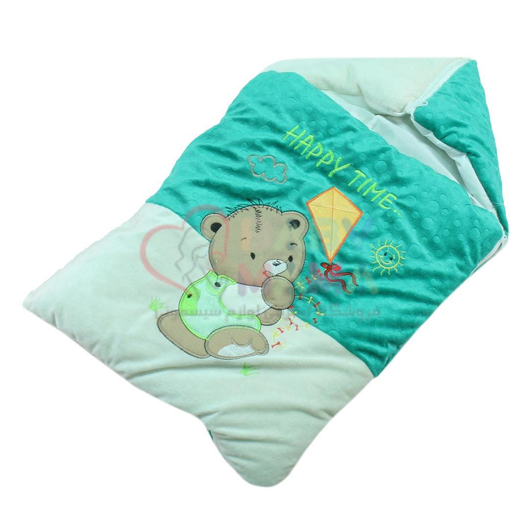 کیسه خواب مخمل baby nahal مدل خرس