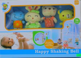 آویز تخت پولیشی کودک Happy shaking bell مدل D098
