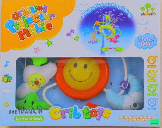آویز موزیکال و چراغ خواب تخت کودک crib toys