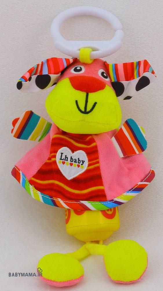 آویز کریر موزیکال LH baby مدل حیوانات