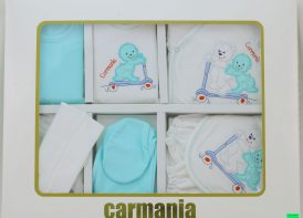 ست ۱۹ تیکه پنبه نوزادی کارمانیا مدل Skate