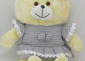 عروسک خرس 45 سانتی متری مدل نیوسافتعروسک خرس 45 سانتی متری مدل نیوسافت