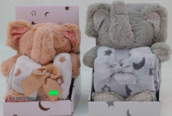 پتو عروسکی نوزادی مدل فیل