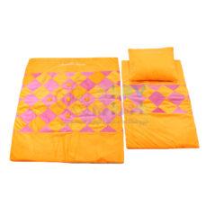 سرویس خواب سه تیکه مخمل مدل fantastic orange