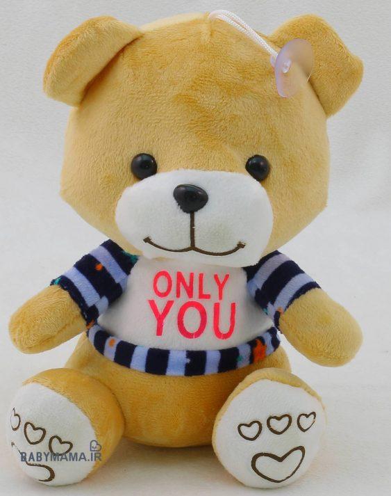 عروسک خرس 20 سانتی متری مدل Only You (