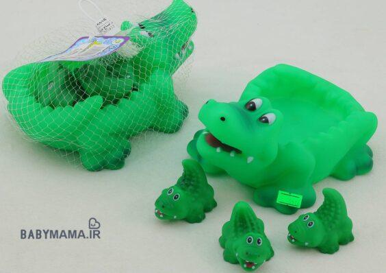 مجموعه پوپت تمساح cartoon toys سایز بزرگ