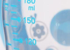 بطری شیرخوری 180 میلی لیتری minitree مدل دهانه عریض دسته دار