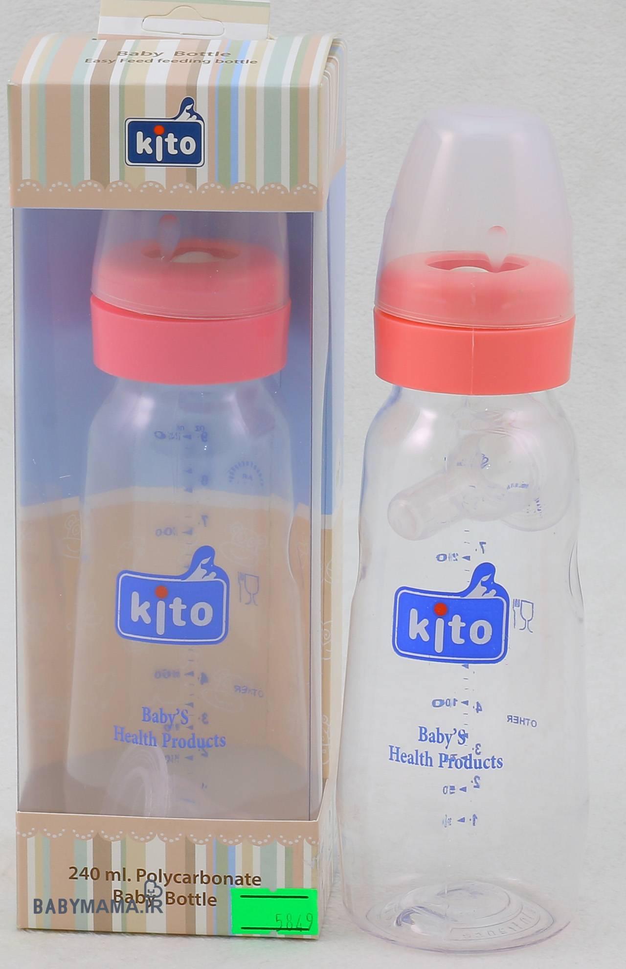 بطری شیر خوری ۲۴۰ میلی لیتری کیتو