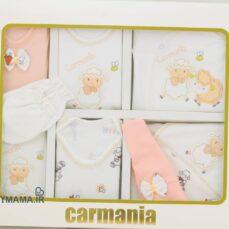 ست ۱۹ تیکه پنبه نوزادی کارمانیا مدل زنبور و بره