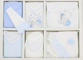ست ۱۹ تیکه پنبه نوزادی کارمانیا مدل bubbles