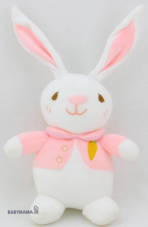 عروسک خرگوش نانو 20 سانتی متری مدل ژیله پوش