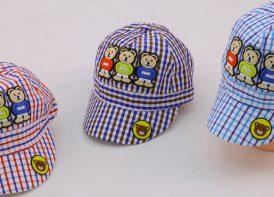 کلاه نقابدار کودک bear مدل چهارخونه