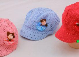کلاه Gap کودک مدل عروسکی خالریز